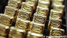 Russische Goldbarren