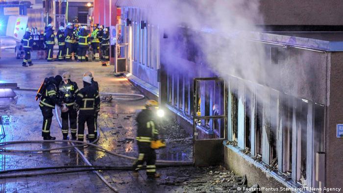 Поджог мечети в Эскильстуне