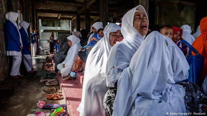 Zehn Jahre nach Tsunami in Banda Aceh Indonesien