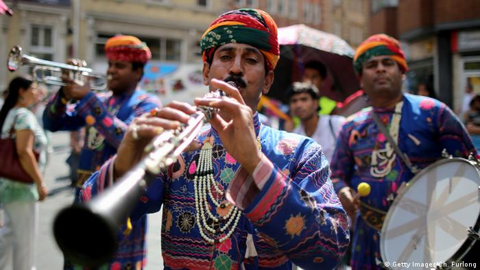 Brass Band in Indien (Getty Images/Ch. Furlong)