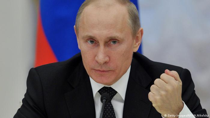 Der russische Präsident Wladmir Putin (Foto: AFP