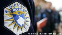Das Logo der so genannten Kosovo Police