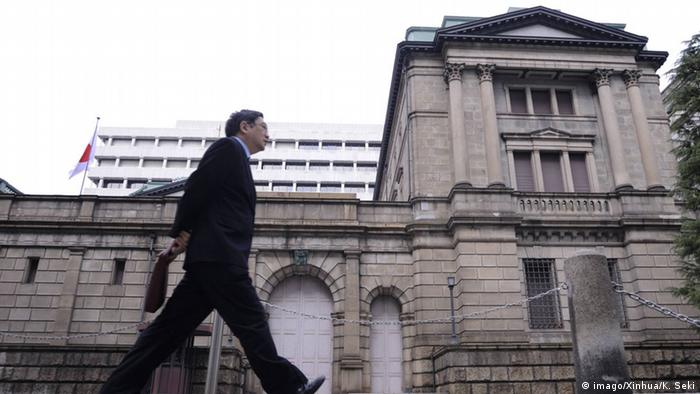 Japan Bank of Japan BOJ in Tokyo