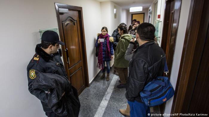 Обыск в редакции Радио Свобода в Баку