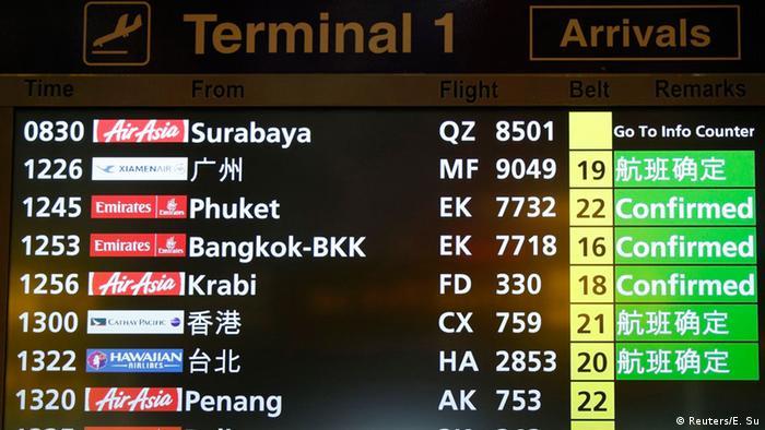 AirAsia-Maschine mit 162 Menschen vermisst 28.12.2014