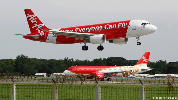 Air-Asia-Airbus über der Javasee verschwunden