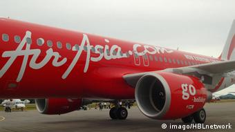AIR ASIA Indonesia flight QZ8501 is missing en route from Surabaya, Indonesia to Singapore at 6.35am Malaysian time (C) H.BERBAR (file photo)