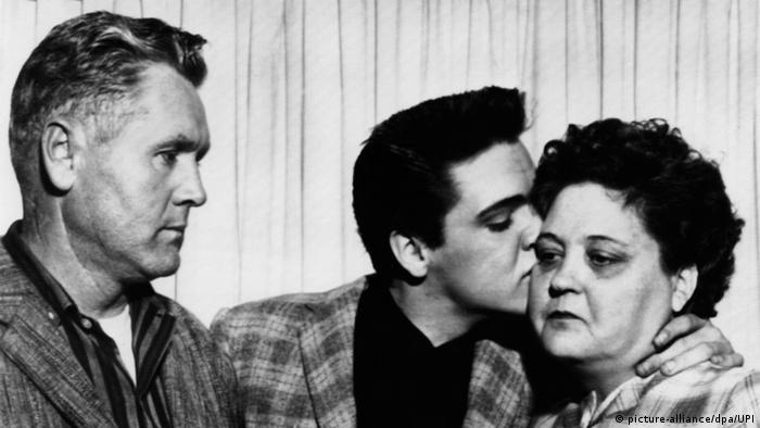 Elvis Presley Mutter Vater Eltern