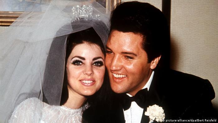 Elvis Presley marries wife Priscilla Beaulieu (picture-alliance/dpa/Bert Reisfeld)