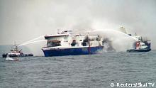 Brand auf Fähre in der Adria Norman Atlantic 28.12.2014