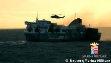 Brand auf Fähre in der Adria Norman Atlantic 29.12.2014 Rettung