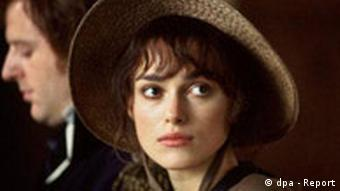 Keira Knightley in the 2005 film adaptation of Pride and Prejudice (dpa - Report)