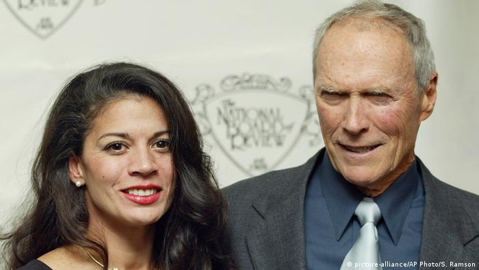 Clint Eastwood and former wife Dina, a newscaster