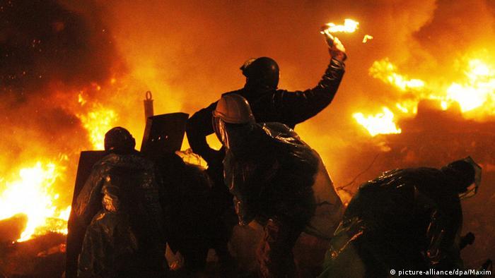 Ukraine Maidan Protest Symbolbild