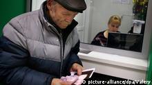 Ukraine Donezk Sozialhilfe