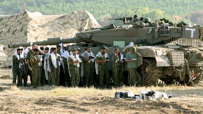 Symbolbild Gläubige in der Israelischen Armee