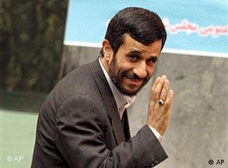 Iran's President Mahmoud Ahmadinejad doesn't want nuts and chocolate