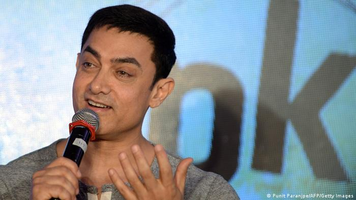 Bollywood PK Schauspieler Aamir Khan (Punit Paranjpe/AFP/Getty Images)