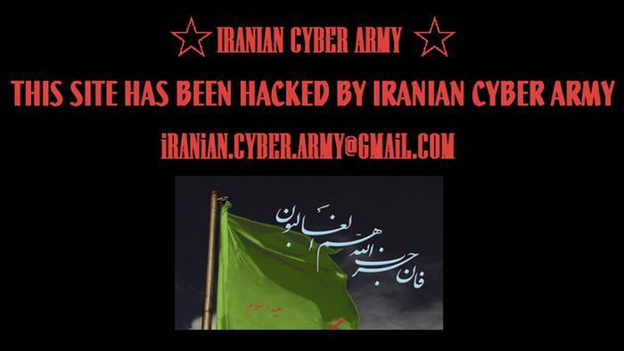 Screenshot Hack Iranian Cyber Army