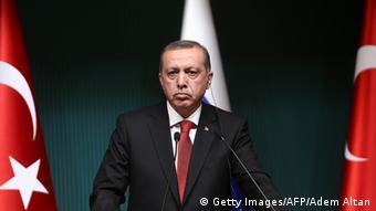 Recep Tayyip Erdogan Türkei Porträt