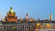 #70553655 - Panorama Skyline Leipzig City © industrieblick