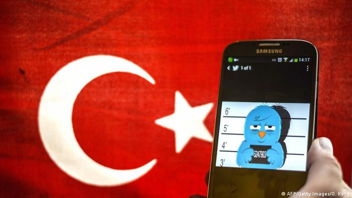An iPhone and a Turkish flag: The freedom of the press in Turkey is under threat (Photo: AFP)