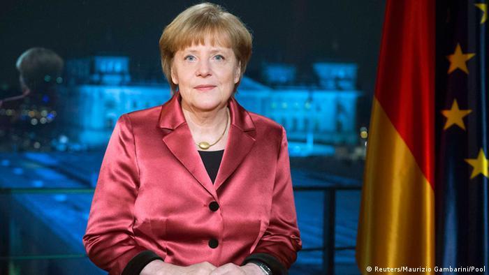 Kansela Angela Merkel akihutubia taifa kuuaga mwaka 2014 na kuukaribisha 2015.
