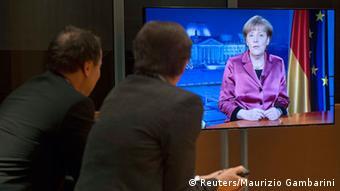 Новогоднее телеобращение Ангелы Меркель