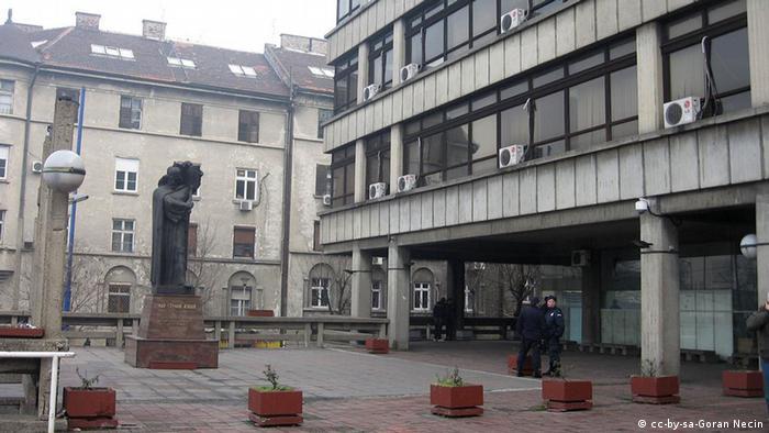 Serbien Belgrad Justizpalast