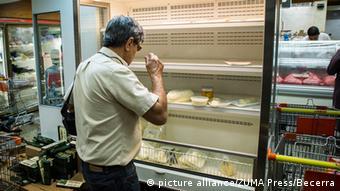 La escasez de alimentos y productos de primera necesidad, uno de los principales problemas en Venezuela.