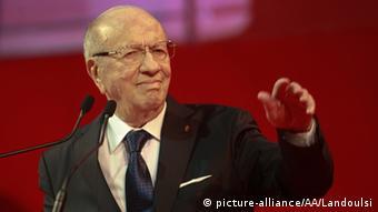 Tunus Cumhurbaşkanı El-Baci Kaid Es-Sebsi