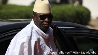 Yahya Jammeh, Präsident Gambias seit 1994. Foto: AP Photo/Sunday Alamba