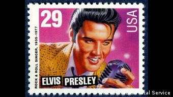Συλλεκτικό γραμματόσημο με τον Έλβις