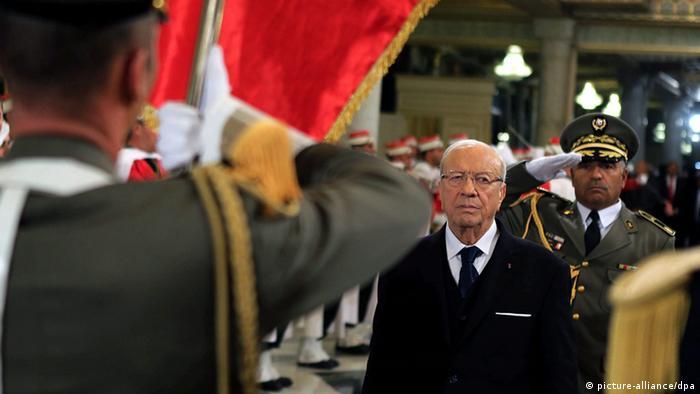 Tunesien Präsident Beji Caid Essebsi