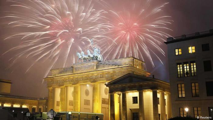 Berlin, Neujahrsfeiern (Reuters)