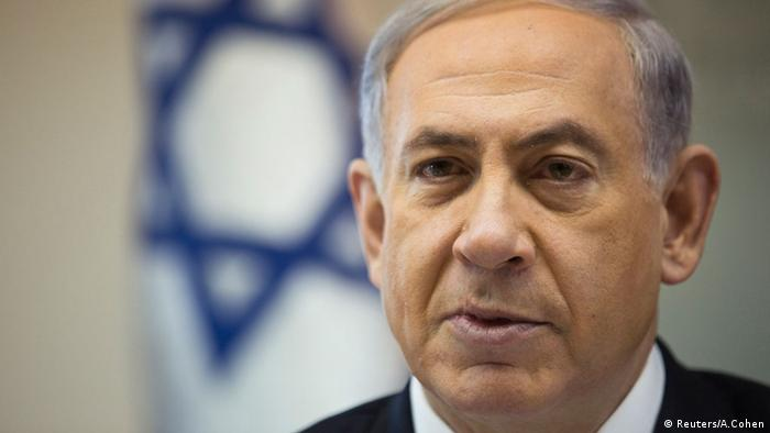 Israel Benjamin Netanjahu Porträt 21. Dez. 2014