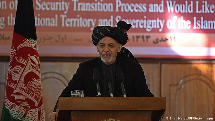 Ashraf Ghani im Präsidentenpalast am 01.01.2015
