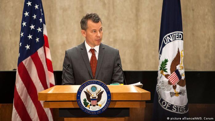 Jeff Rathke, Sprecher des US-Außenministeriums