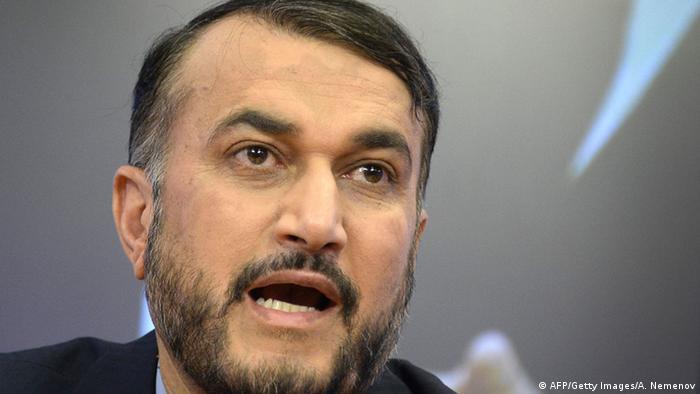 Irans Vize-Außenminister Hossein Amir Abdollahian