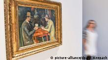 Kunsthalle Mannheim Paul Cézanne Die Kartenspieler ca. 1892-95