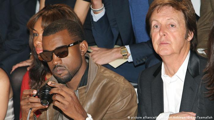 Sir Paul McCartney und Kanye West