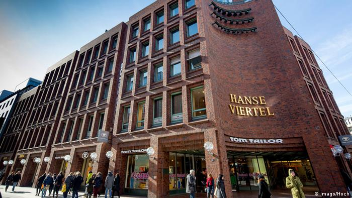 Hanse Viertel in Hamburg