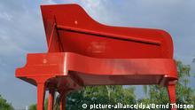Klavier-Festival Ruhr Markenzeichen roter Flügel