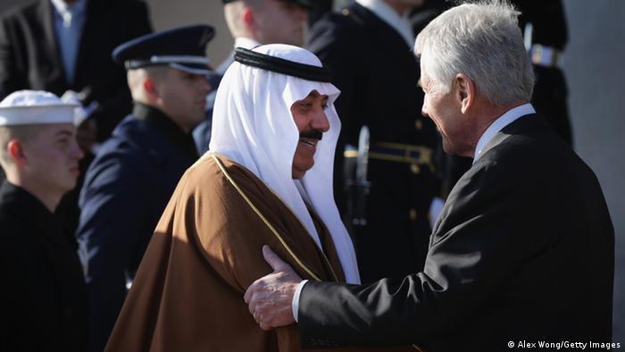 Mitib bin Abdallah bin Abd al-Aziz Al Saud bei Chuck Hagel USA 21.11.2014