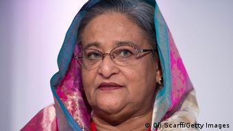 Die bengalische Premierministerin Sheikh Hasina (Foto: Oli Scarff/Getty Images)