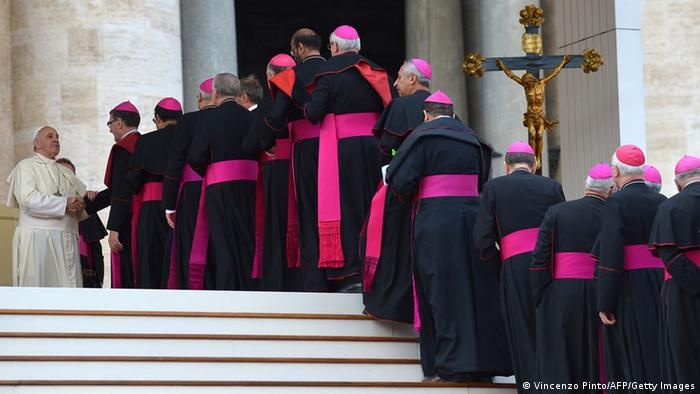 Symbolbild Papst ernennt neue Kardinäle 4.1.2015 (Vincenzo Pinto/AFP/Getty Images)