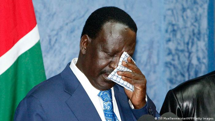 Raila Odinga ARCHIV Trauer (Till Muellenmeister/AFP/Getty Images)