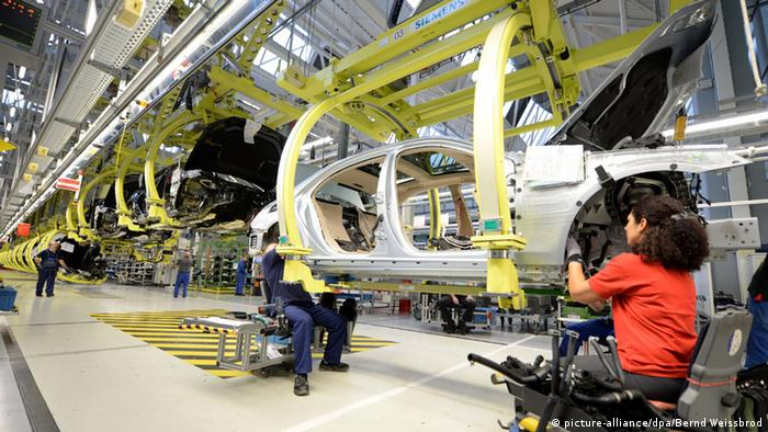 Fábrica de Mercedes Benz