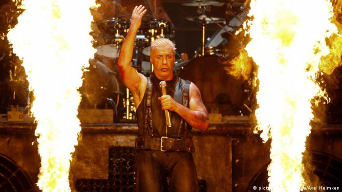 Rammstein. PHoto: Axel Heimken/dpa