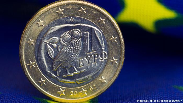 Griechische Euromünze (picture-alliance/dpa/Jens Büttner)